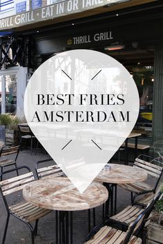 """We love fries! On http://www.yourlittleblackbook.me/fries-in-amsterdam/ there's a list with the best hotspots in Amsterdam to find the best fries! Planning a trip to Amsterdam? Check http://www.yourlittleblackbook.me/ & download """"The Amsterdam City Guide app"""" for Android & iOs with over 550 hotspots: https://itunes.apple.com/us/app/amsterdam-cityguide-yourlbb/id1066913884?mt=8 or https://play.google.com/store/apps/details?id=com.app.r3914JB"""