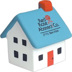 Leave your stress at home with this house shape stress reliever.Let it take your…