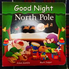 Day 21 of the #2016BookAdventCalendar - we love the Goodnight series...Good Night North Pole.