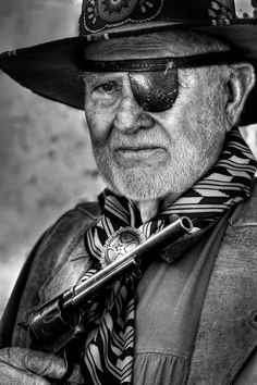 "Great Cowboy Portrait - ""Jack"" by Carl Shortt III"