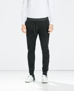 Image 3 of ELASTIC TROUSERS from Zara