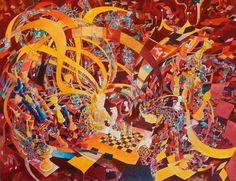 Sans titre Acrylique / papier 15P (65 x 50) 2007 inachevée