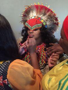 Jabu & Thabani's Gorgeous Zulu Wedding For 2019