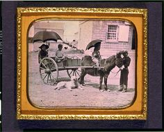 [Children of Lt. Montgomery C. Meigs, in donkey cart with dog, probably Mary Montgomery, Charles, Montgomery, and John Rodgers] Created / Published [between 1850 and 1851] Courtesy: Library of Congress Prints and Photographs Division Washington, D.C. (USA).