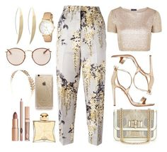 """Untitled #157"" by cloepatrx ❤ liked on Polyvore featuring Rochas, Aquazzura, Topshop, Christian Louboutin, Hermès, Rifle Paper Co, Wet Seal, Ray-Ban and Kate Spade"