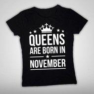 Queens are born in....