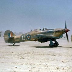 Hawker Hurricane Mark IIDs of No 6 Squadron, Royal Air Force rolling out at Gabes airfield soon after noon on 6 April 1943 for a tank-… Ww2 Fighter Planes, Ww2 Planes, Fighter Aircraft, Fighter Jets, Air Force Aircraft, Navy Aircraft, Ww2 Aircraft, Military Jets, Military Aircraft