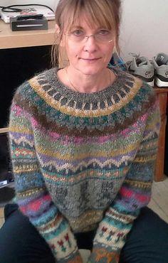 Ravelry: hishult's sweater hønsestrik