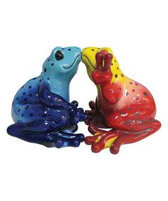 Another great find on #zulily! Kissing Frogs Salt & Pepper Shakers #zulilyfinds