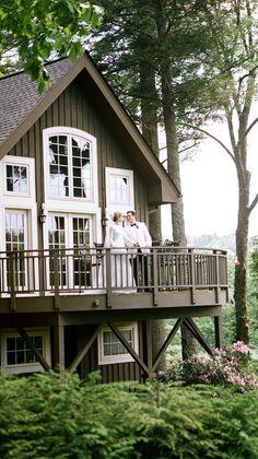 House Paint Exterior, Exterior House Colors, Exterior Design, Lake House Plans, Craftsman House Plans, Metal Building Homes, Building A House, A Frame House, Pole Barn Homes