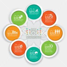 Geometric Infographic Element Royalty Free Stock Vector Art Illustration