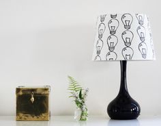 30 DIY Lampshades That Will Light Up Your Life via Brit + Co