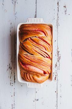 Hint of Vanilla: Raspberry Swirl Brioche
