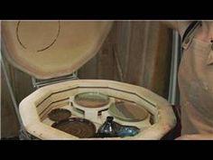 Using an Electric Pottery Kiln : Electric Pottery Kiln Glaze Firing - YouTube