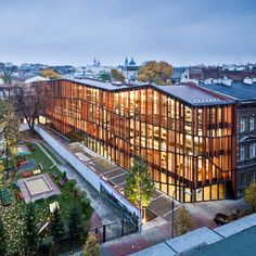 malopolska garden of arts (MGA) by ingarden & ewy architects platinum A' design award winner in the architecture, building and structure design category, 2013-2014