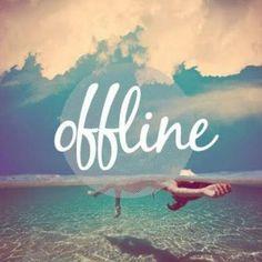 Fim de semana offline