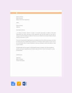 29+ Donation Letter Templates - PDF, DOC | Free & Premium Templates Donation Letter Samples, Donation Letter Template, Resume Cover Letter Template, Letter Template Word, Letter Templates Free, Work Resignation Letter, Resignation Template, Simple Cover Letter, Day Planner Template