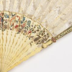 Pleated Fan, mid- 18th–mid- 19th century