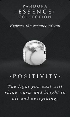 Express the essence of you. #PANDORAessencecollection #PANDORAcharm #Positivity