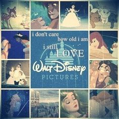 I will always and forever be a kid at heart. Because Disney helped me believe in my dreams.