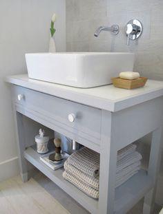 Old Furniture Turned Into Bathroom Vanity antique furniture