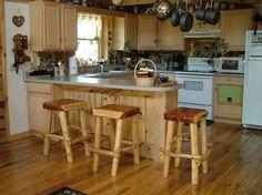 Kitchen counter top bar - same level