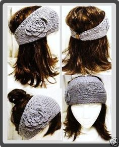 I don't usually look good in hats, and I have a BIG head so most don't fit right. In winter I count on these ear-warmer thingees instead---I have a lot of them, and some of them have a button to fasten under your hair so you don't have to smush your hair around getting it in position.
