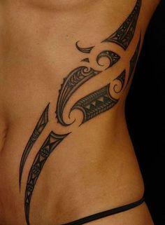 Tribal side piece - Koru Tattoo Maori/Niuean Tattoos On Aroha