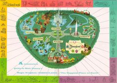 1957 Guidebook Map....love d-land maps :)