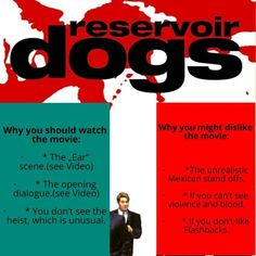 Quick review of Reservoir Dogs by Quentin Tarantino #reservoirdogs #quentintarantino #shortmoviereview #moviereview #movieposter #cultmovies Reservoir Dogs, Quentin Tarantino, Cult Movies, See Videos, Grafik Design, Vintage Movies, Scene, Instagram, Quotes