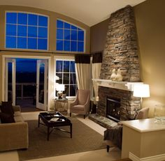 Fireplace Gallery Online FireplaceSliding Patio DoorsRoom LayoutsLiving