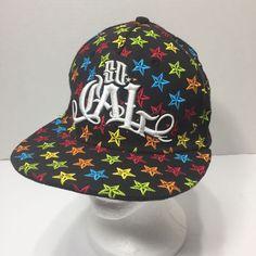 7807f4ce7b19b SO CAL Urban Hip Hop Stars Streetwear Flex Fit Size S M Baseball Hat Cap