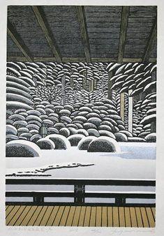 MORIMURA,Rei[Portland Japanese Garden in winter]
