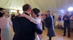 A frame from Leanne & Christophers wedding video shot at the beautiful Carberry Tower near Musselburgh,  East Lothian EH21 8PY