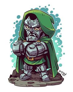 """5,102 curtidas, 12 comentários - Derek Laufman (@dereklaufman) no Instagram: """"Dr Doom wants you to know that May 4th his prints will be available at www.dereklaufman.com (link…"""""""