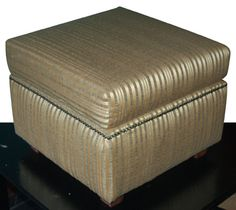 In the latest issue of Home-Dzine Online I show you how to make an ottoman in different styles: A basic square upholstered ottoman and a circular ottoman. The ottoman design featured below is the easiest ottoman to make and you can easily assemble and upholster in a day. http://www.home-dzine.co.za/diy/diy-seatott.htm#