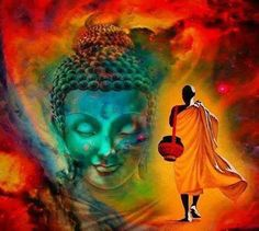 "Buddha ""We can travel a long way in life and do many things, but our deepest happiness is not born from accumulating new experiences. it is born from letting go of what is unnecessary, and knowing ourselves to be always at home. Buddha Kunst, Buddha Zen, Gautama Buddha, Buddha Face, Buddha Meditation, Buddha Quote, Spiritual Pictures, Buddha Painting, Buddha Artwork"