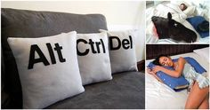 18 Pillows You'll Wish You Had on Your Bed Cool Comfy Comfortable Lazy Home Decor Inspiration, Design Inspiration, Decor Ideas, Gift Ideas, Verona, Cool Beds, Bean Bag Chair, Home Improvement, Furniture Design