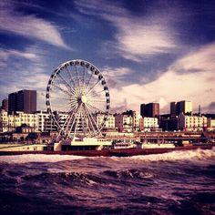 Brighton pier Brighton, Opera House, Building, Travel, Viajes, Buildings, Destinations, Traveling, Trips