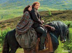"""Outlander"" TV series starring Sam Heughan and Caitriona Balfe"