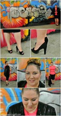 eb81ae577c4 Aussie Curves  Sparkle  She Wore What. Plus Size Fashion ...