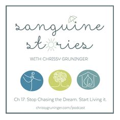 """In this Sanguine Stories Podcast, I'm talking all about why we should stop """"chasing"""" our dreams and START LIVING THEM! Plus... a short rant on the language we use we use when choosing hashtags around living our dreams. ;-) #podcast #costarica #livingthedream #livingmydream #chaseyourdream"""