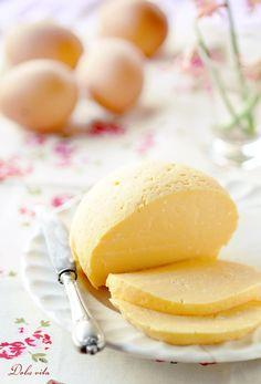 Sárga túró European Cuisine, Ice Cream, Cheese, Dishes, Baking, Breakfast, Easter, Milk, Foods