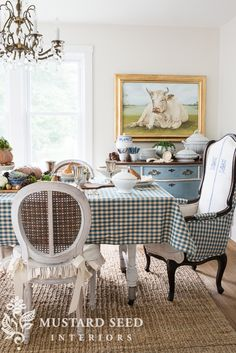 Hanging Plates & Swapping Chairs  Miss Mustard Seed  Furniture Stunning Miss Mustard Seed Dining Room Review