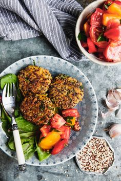 Vegan Vegetarian, Vegetarian Recipes, Healthy Recipes, Healthy Food, Vegan Food, Steaks, Quinoa, Fodmap, Tandoori Chicken