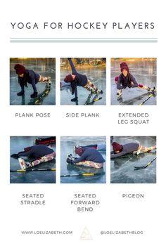 To Improve Hockey Performance With Yoga Yoga Poses For Hockey PlayersYoga Poses For Hockey Players Dek Hockey, Hockey Goalie, Hockey Players, Bruins Hockey, Youth Hockey, Hockey Mom, Hockey Stuff, Funny Hockey, Hockey Workouts