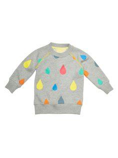 Boys & Girls Raindrop Crew Sweatshirt