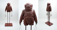 "Saatchi Online Artist: Andrew Barton; Mixed Media, 2011, Installation ""Safe Shopper - Urban Wear Bomb Suit"""