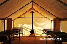 tent at May Lake