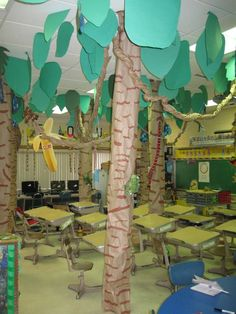 my rainforest classroom on http://popularpin.com